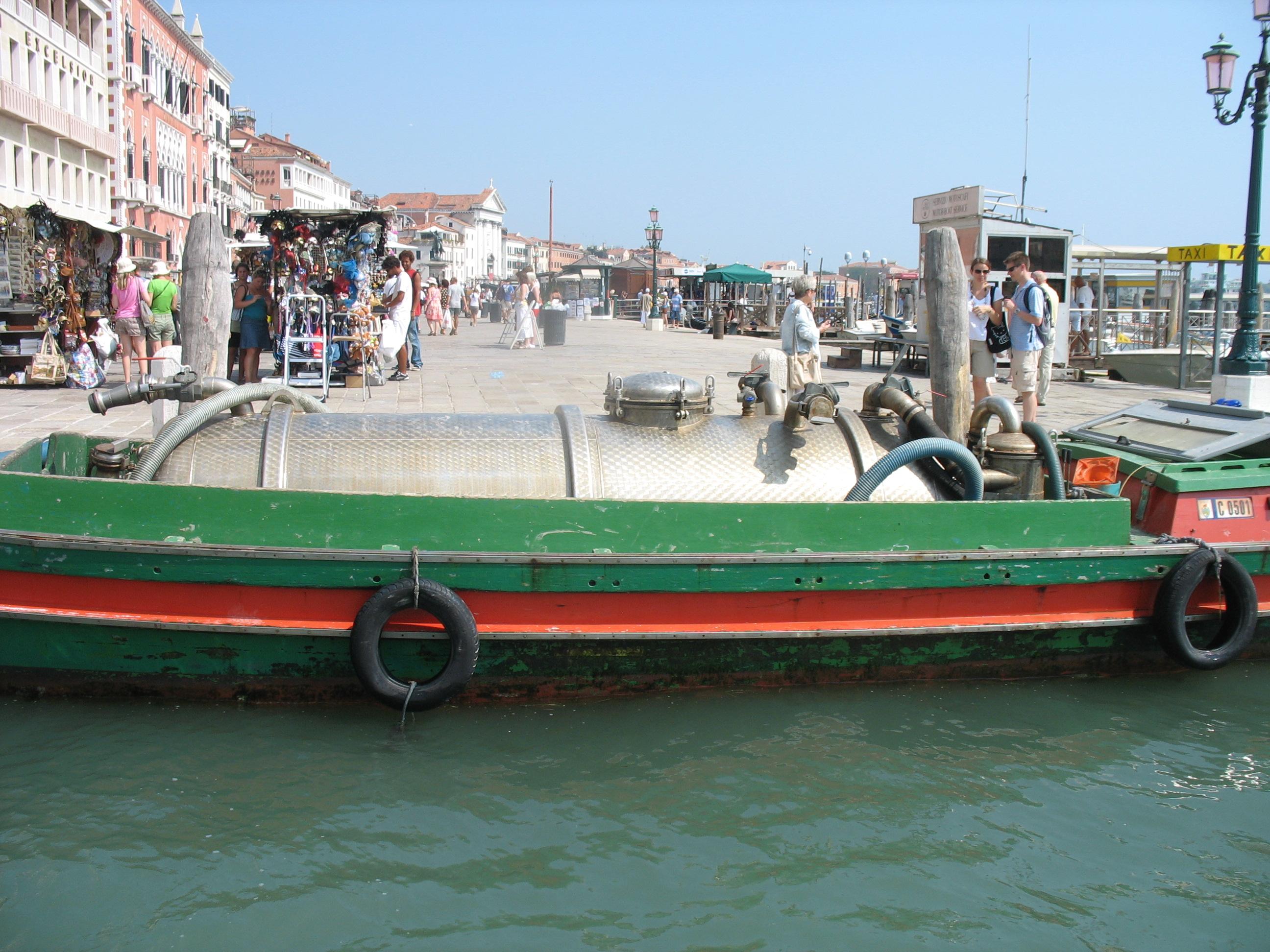 St Marco drain boat