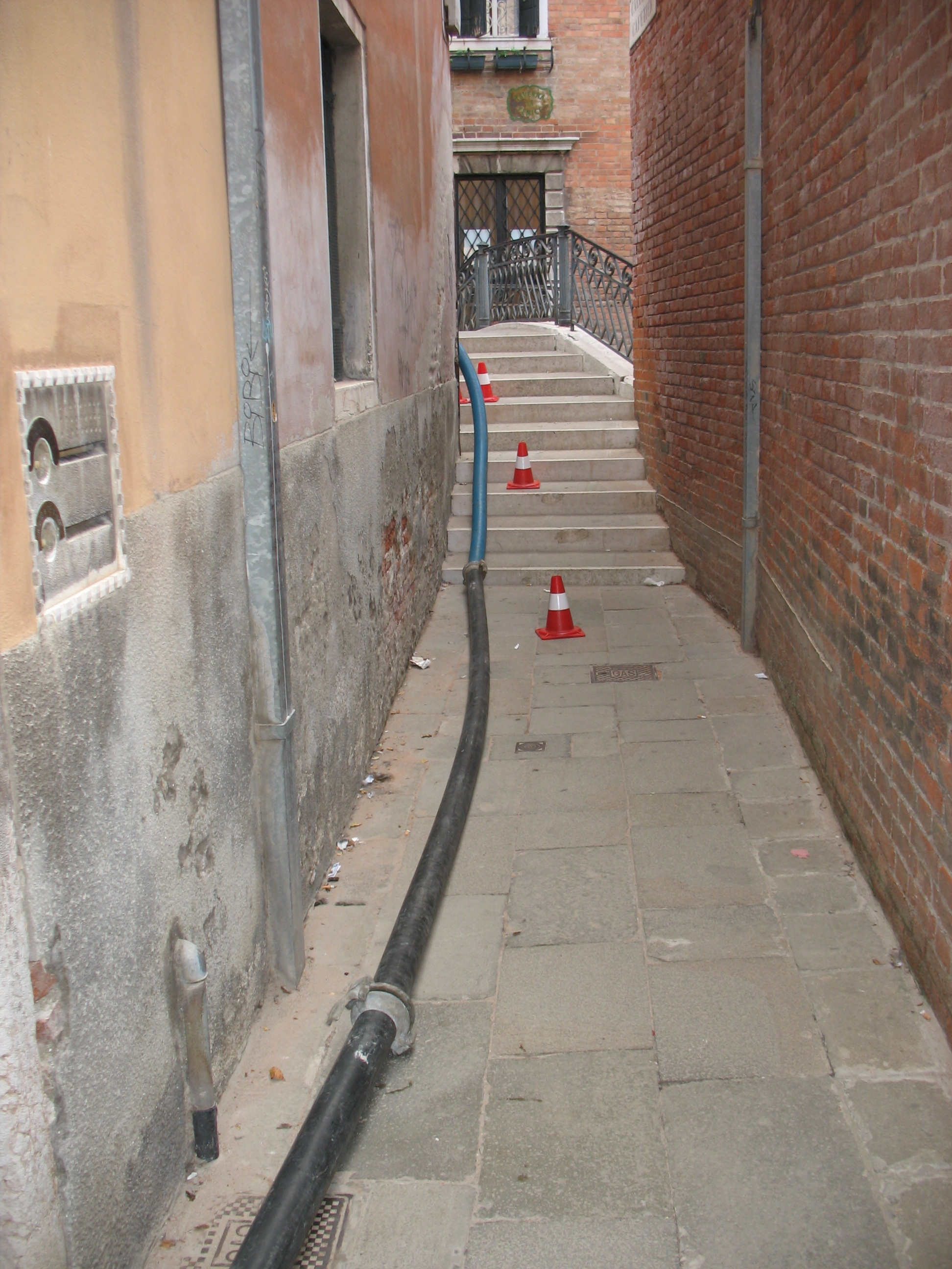 Venice pumping waste