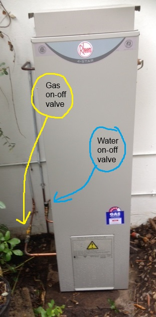 Water heater valves