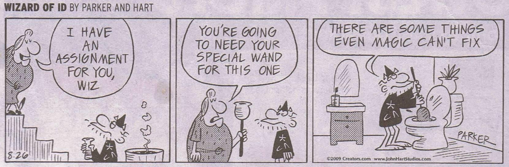 Wizard ID Plumber