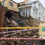 Bronte collapsed wall